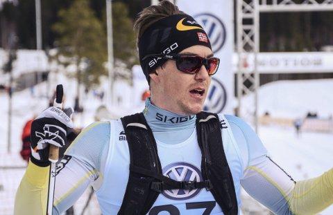 40. plass: Vetle Thyli endte på en beskjeden 40. plass i Marcialonga. Arkivbilde