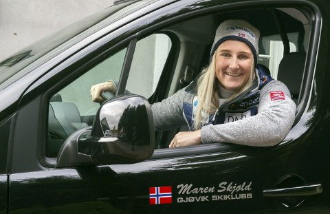 Full fart: Maren Skjøld kan kjøre på for fullt etter å ha blitt uttatt på neste års verdenscuplag.