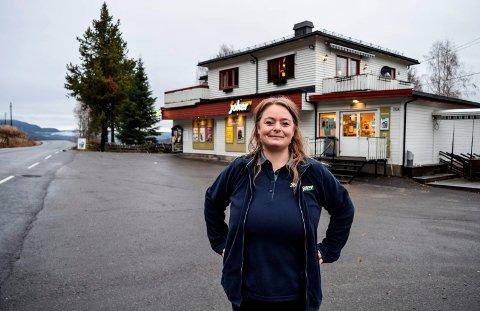 KONKURS: Monica Ask i 3M Handel AS har vært daglig leder på Nærmat-butikken på Vestsida fra 1. november i 2018. Nå har de meldt oppbud.