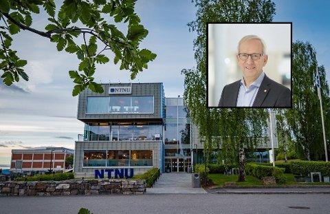 FORSKER: – Vi kommer ikke videre som samfunn uten at noen forsker, påpeker viserektor Jørn Wroldsen ved NTNU i Gjøvik.