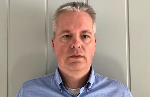 RENOVASJONSSJEF: Ingar Sønsteby (48) fra Eina er ansatt i den nyopprettede stillingen som renovasjonssjef i Horisont Miljøpark IKS.
