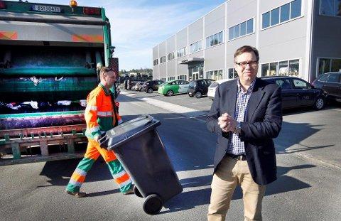 NØDVENDIG: Daglig leder i Follo Ren, Runar Jacobsen, understreker at en omlastestasjon i Follo er påkrevd uansett hvor restavfallet skal videre.