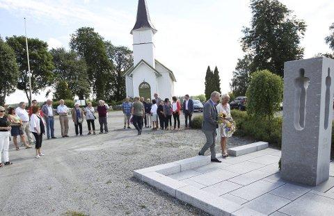 MINNEMARKERING: Mandag 22. juli arrangeres det minnemarkering ved Nordby kirke.
