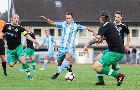 Martin Andre Sjølstad scoret to av målene da Follo FK til slutt slo Norild 4-1 på Ski stadion lørdag kveld.