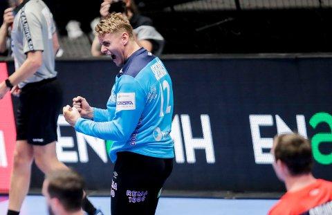I EGYPT: Målvakt Kristian Sæverås har merket at mye er snudd på hodet under VM.