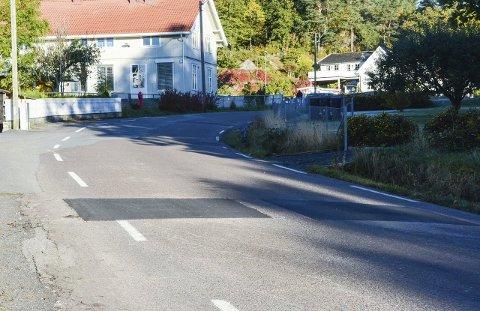 STENGES: Gamle Stavernsveien mellom Solli og Tronsrød vil bli stengt for gjennomkjøring i 14 dager. Det får konsekvenser for bussreisende. Det vil imidlertid bli mulig å levere barn i barnehagen på Lysheim i perioden.