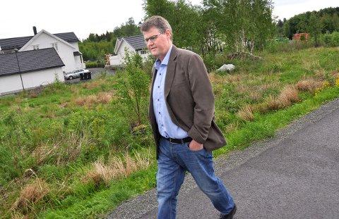 Trekker seg: Rolf Kristian Gjerstad sparer ikke på kruttet i brevet der han trekker seg fra alle politiske verv i Larvik kommune.Arkivfoto: Lasse Nordheim