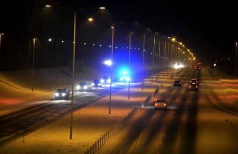 Narkorute: – Vi vet det er stor narkotikatrafikk på E18 om natta, sier lensmannen i Bamble, Sverre Walle.