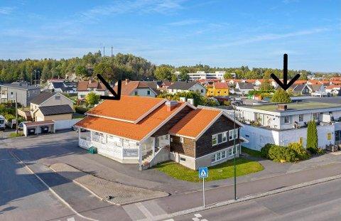 SOLGT: Et Oslo-basert eiendomsselskap har kjøpt to næringsbygg på Nanset, blant annet det Nordbyen Legesenter holder til i.