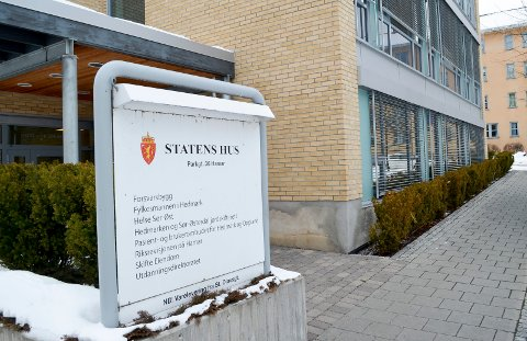 HOVEDKONTORET: Helse Sør-Øst har formelt sett sitt hovedkontor i Statens Hus i Hamar. (Foto: Bjørn-Frode Løvlund)