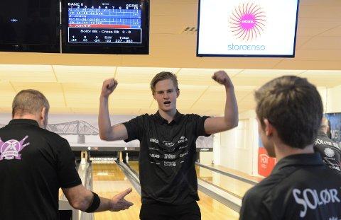 PÅ GANG: Jens Mathiesen og Solør BK viste muskler igjen i helga.