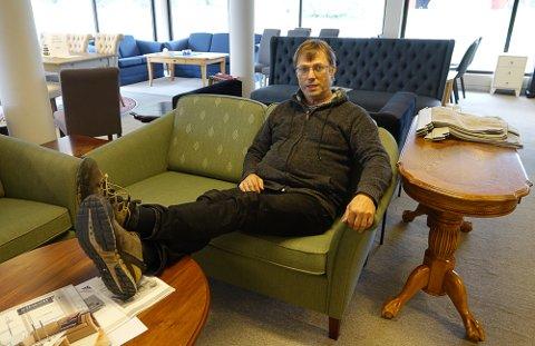 SJELDEN SLIK: – Det er ingen grunn til å legge beina på bordet og si seg fornøyd, sier Tom Rune Lindboe i Våler.