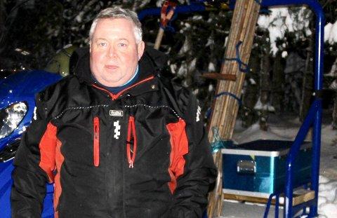 Anders Gundersen er en av dem som kjører løyper på Nøtterøy.