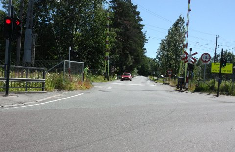 Vallermyrenevegen fra Lilleelvkrysset til Beha-kvartalet blir stengt for all trafikk fram til høsten.