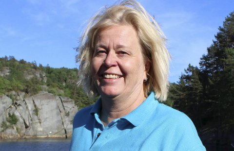 VIL KJØPE FUGLØYA: Kristin Rangnes er daglig leder i Gea Norvegica UNESCO Global Geopark i Telemark. Hun vil at Larvik kommune, Vestfold fylke og staten sikrer at Fugløya blir kjøpt til offentlig bruk.