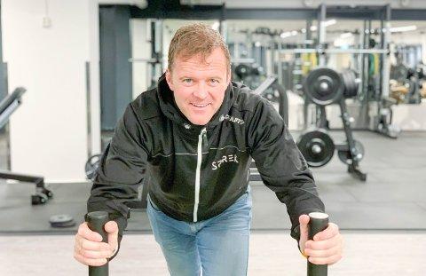 ÅPNET: Espen Ødegaarden Sprek Fritid åpnet dørene for publikum i går ettermiddag. Så langt har 500 meldt seg inn i det nye treningssenteret i 3. etasje på Down Town.