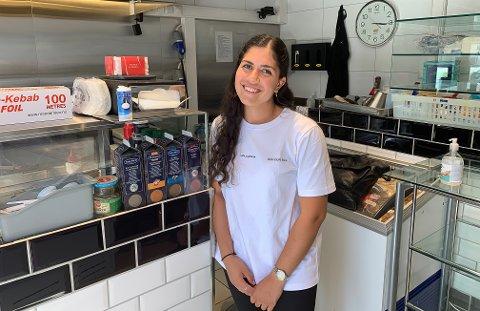 DAGLIG LEDER: Ann Selda Deliler har åpnet Oscar's gatekjøkken og iskrembar i Park-bygget.
