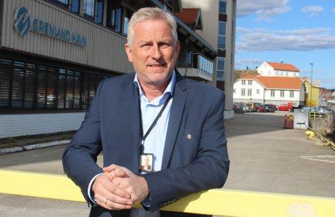Havnedirektør Torben Jepsen sier at Grenland Havn vil gjøre tiltak for å dempe støy fra havneaktiviteten ved Breviksterminalen.