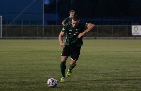 Jonas Sandnes er strålende fornøyd med å være tilbake på fotballbanen.
