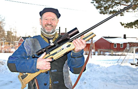 KNALLSTERKT: Leif Ramstad slo over 1.000 konkurrenter da han skjøt til 23. plass i jaktfelt-NM. Arkivfoto: Jo Erik Askerøi