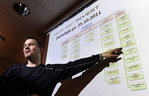 Risikabelt: Adm.dir. i Helgeland Invest AS, Ståle Indregård, mener det er risiko knyttet til å selge aksjer til Intrinsic Oppkjøp AS.Foto: Øyvind Bratt