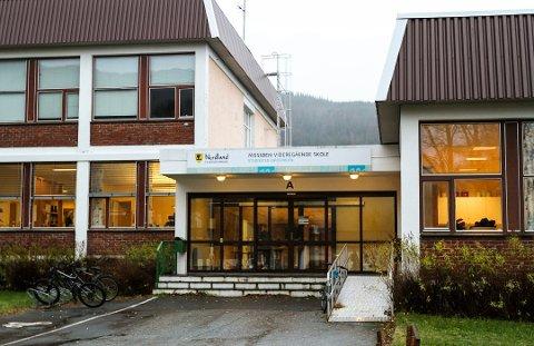 Mosjøen videregående skole avd. Kippermoen (Foto: Torild Wika/Helgelendingen)