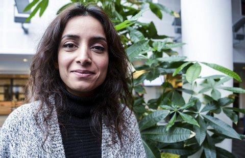 DOKUMENTARFILM OM JIHADISTER: – Den største leksa, er at vi faktisk kan jobbe med å forhindre at unge minoriteter som faller utenfor blir tatt opp i ekstreme miljøer, sier Deeyah Khan som er BAFTA-nominert for «Jihad: A story among others». Foto: Ida Madsen Hestman