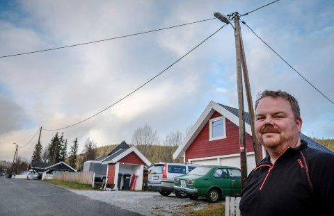 Leder i Gammeljordet Velforening, Kim Roger Lien, er opptatt av at folk skal trives der de bor.