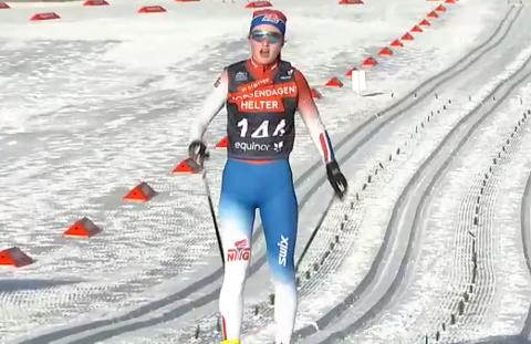 Nummer 8: Julie Jeistad ble nummer åtte på fem kilometer klassisk i Norgescupen fredag.