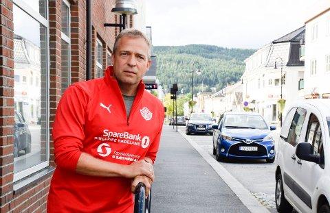 VALGVINNER: Dette er etter alt å dømme den nye ordføreren i Jevnaker: Med 45 prosent av forhåndsstemmene til Ap, ligger Morten Lafton an til å ta over etter Lars Magnussen.