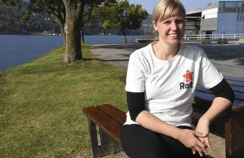 KLAR: Rødts Cecilie Lerstang er gjenvalgt sompartileder lokalt i Notodden.