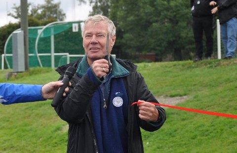 KOMMER: Rune Gerhardsen har vært i Sandefjord tidligere. Her i forbindelse med åpningen av inlinebanen i Bugården i 2014.
