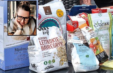 TI SVERIGE: Etter at staten i to omganger har mer enn halvert den månedlige støtten til allergikere, synes Vibeke Helgeland at det er  ekstra fint å kunne reise til Sverige igjen for å kjøpe billige og glutenfrie tørrvarer. ARKIVFOTO: Paal Even Nygaard/privat