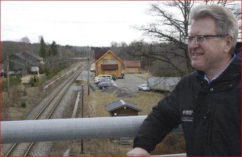 Erik Unaas drømmer om kjappere reisetid til Oslo innen få år.