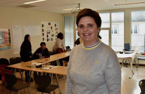 MÅ OMPLASSERE: Rektor Aslaug Elin Straume Kleven ved Ryfylke Læringssenter jobber for tida med å få omplassert flere ansatte til andre kommunale virksomheter. Arkivfoto: Roar Larsen
