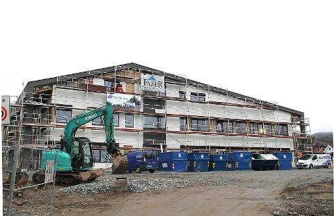 KF-skolen oppføres like ved Klippens lokaler på Jørpeland og skal være klar til innflytting om tre uker.