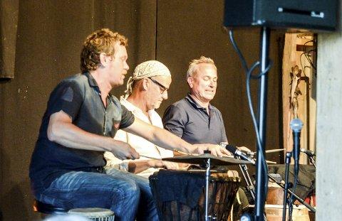 DYKTIGE: Helge Andreas Norbakken, Jon Balke og Snorre Bjerck er dyktige musikere.