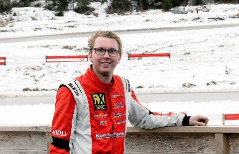GIR GASS: David Nordgård nærmer seg drømmen om å kjøre rallycross internasjonalt i supercarsklassen.
