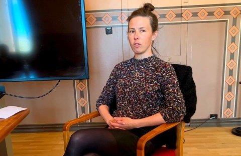 BEKYMRET: Kommuneoverlege Anne Gunhild Waagsbø-Kjeldsen er bekymret over smitteutviklingen i Skien.