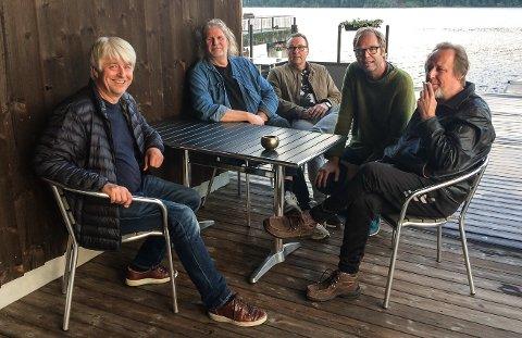 GJENHØR: Mama Don't med Tor Egil Skaar, Kalle Bratsberg, Paal Øymo, Runar Boyesen og Jan Erik Ulvestad spiller sammen igjen etter 30 år.