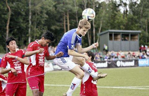 Med i fjor: Jørgen Gjerstad og Surnadals juniorlag spilte i Norway Cup i fjor. I år sender Surnadal seks lag til Oslo.