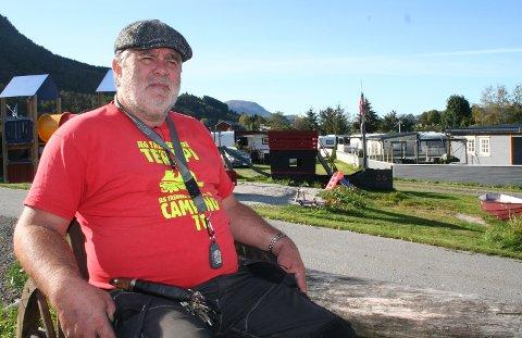 Kåre Bergheim har drevet Tingvoll Camping i flere tiår. Nå har han etablert et nytt foretak i samme kommune.