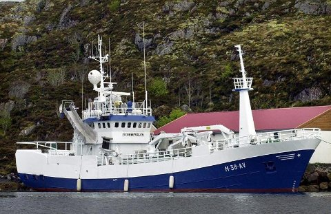 «Stormfuglen» forsvinner fra Nordmøre. Båt og kvoter er – ifølge Fiskeribladet – solgt for 360 millioner kroner.