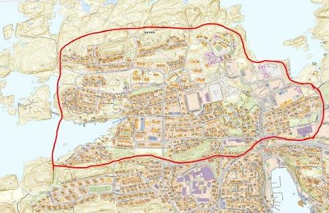 Om du var ute i dette området mellom midnatt og klokken 05.00 natt til fredag 30. januar, vil politiet høre fra deg.