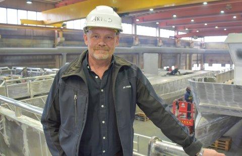 VOKSER: Arild Tjelle er administrerende direktør i Promek AS, som har levert rekordomsetning to år på rad.
