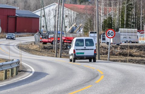 VELKJENT: Bildet fra 60-sona i Høyjord er brukt utallige ganger som illustrasjon til UPs fartskontroller. Fredag ble flere bilister fratatt førerkortet etter en fartskontroll. Én mistet lappen på grunn av ruskjøring.