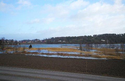 Utsikt fra Granittveien mot øst.
