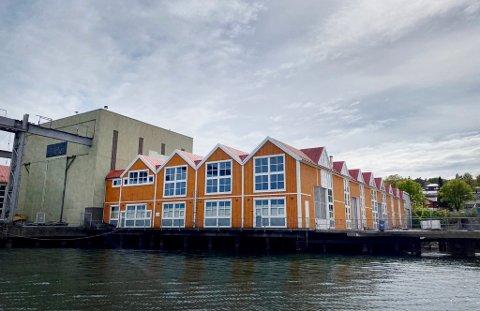STØY: Siden Oslofjord Datacenter etablerte det store datasenteret i Scanropes gamle lokaler, har naboer klaget over støy. Så viste det seg at selskapet aldri hadde søkt korrekt om å drive på stedet.