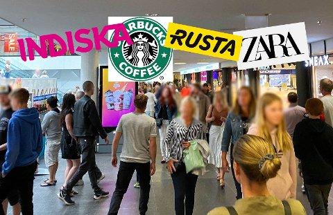STORT ENGASJEMENT: Leserne har tydelige meninger om hvilke butikkjeder de ønsker seg inn på Farmandstredet.