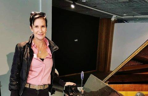 GLEDER SEG: Camilla Von Rummelhoff starter opp Modellskolen i Tønsberg.